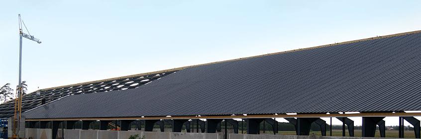 Płyty warstwowe dachowe EuroPanels