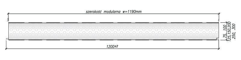 ThermaDeck PRO - rysunek techniczny